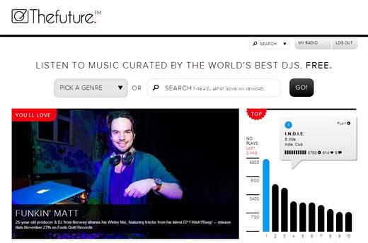 作業BGMに最適!色んなジャンルでDJのMIXが聴ける「Thefuture.FM」