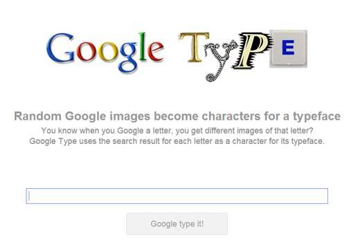 指定した文字を画像で作ってくれるWEBサービス「Google Type」
