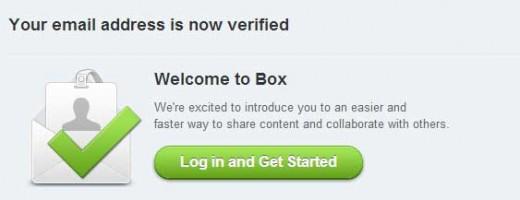 BOX登録完了