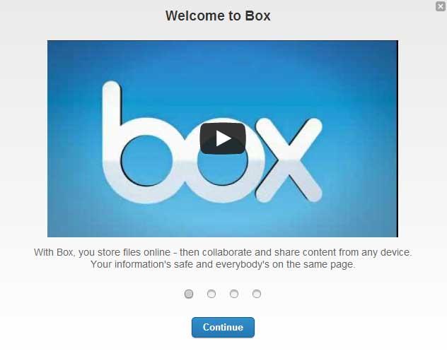 オンラインストレージ「BOX」が無料の新規登録で50GBのキャンペーンをしていたので登録してみた