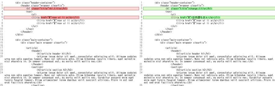 簡単にテキストの差分がチェックできるWEBサービス「Diff Checker」