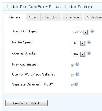 lightbox-settings