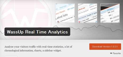 外部ツールは不要!WordPressのアクセス解析ツール「WassUp Real Time Analytics」