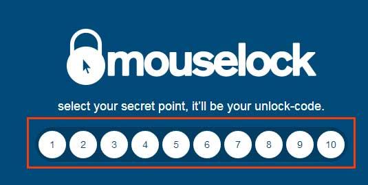 離席したときにマウスやキーボードの動きを監視してくれるWEBサービス「Mouselock.co」