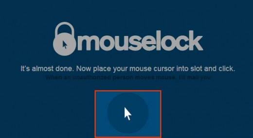 マウスのロック