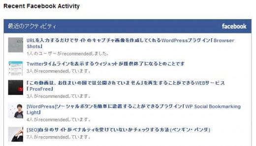 Facebookのシェア状況