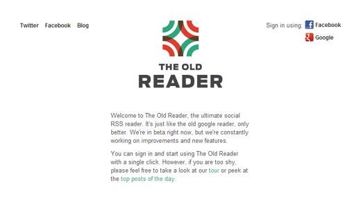 Googleリーダーが7月1日で終了!乗り換えにおすすめなRSSリーダー「The Old Reader」