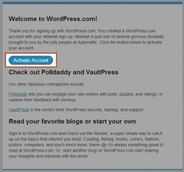 wordpress_activate