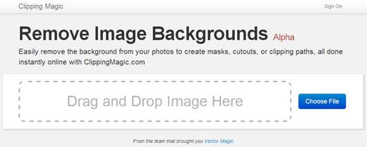 簡単に写真の背景などを切り抜き加工できるWEBサービス「Clipping Magic」