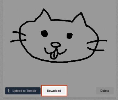 GIFアニメのダウンロード