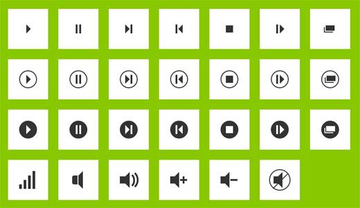 CSS3で作成されたアイコンをコピペで使うことができる「CSS3 Icons」