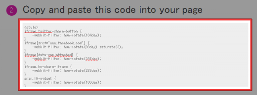 Copy and paste this code into your page
