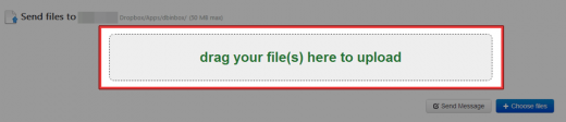 drag your file(s) here to upload