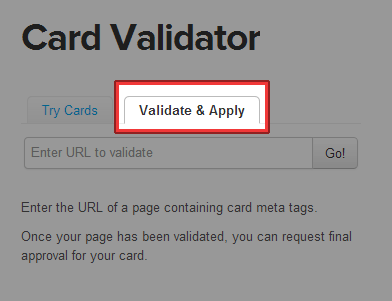 Validate & Apply