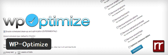 データベースを最適化して容量を削減するWordPressプラグイン「WP-Optimize」
