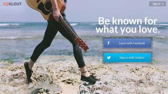 最適な投稿時間も教えてくれる!ソーシャルメディア上での影響力を数値化してくれるWEBサービス「Klout」