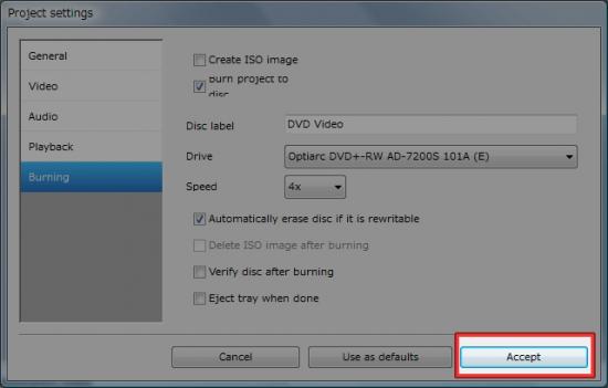 Project settingsを閉じる