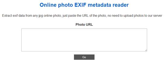 Exif情報をチェックすることができるWEBサービス「Find exif data」