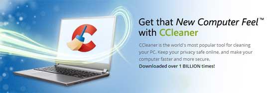 不要な一時ファイルやレジストリを一括削除できるシステムクリーナーソフト「CCleaner」