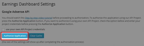 Authorize Application