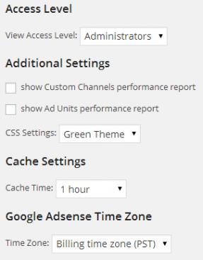 Google Adsense Dashboardの設定