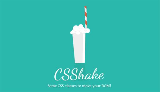 要素にブルブル震えるアニメーションを加えることができるCSSライブラリ「CSS Shake」