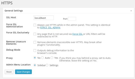 WordPress HTTPSの設定