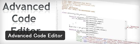 テーマやプラグインの編集画面を見やすくしてくれるWordPressプラグイン「Advanced Code Editor」