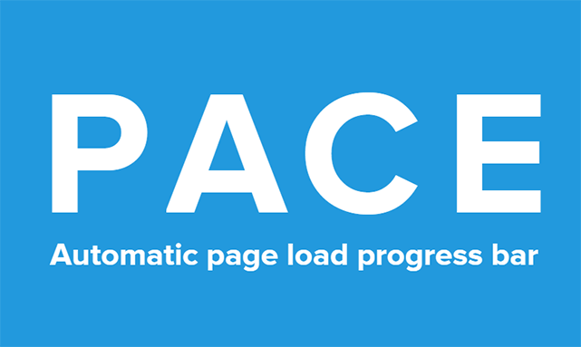 ページ読み込み時にプログレスバーを表示させることができる「PACE.js」