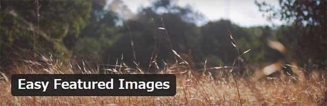 投稿一覧ページからアイキャッチ画像を登録することができるWordPressプラグイン「Easy Featured Images」