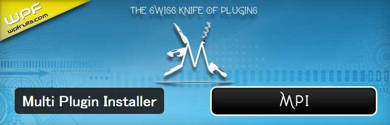 複数のプラグインをまとめてインストールすることができるWordPressプラグイン「Multi Plugin Installer」
