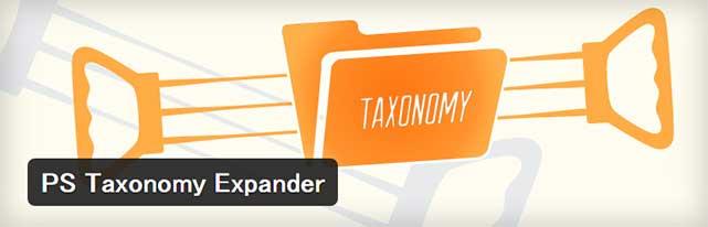 カテゴリーの順番を並べ替えることができるWordPressプラグイン「PS Taxonomy Expander」