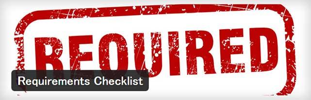 タイトルや本文など、記事投稿時の必須項目を設定することができるWordPressプラグイン「Requirements Checklist」