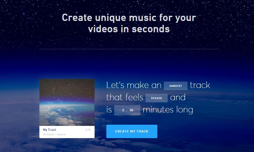 人工知能がオリジナルの楽曲を作成してくれる「Jukedeck」