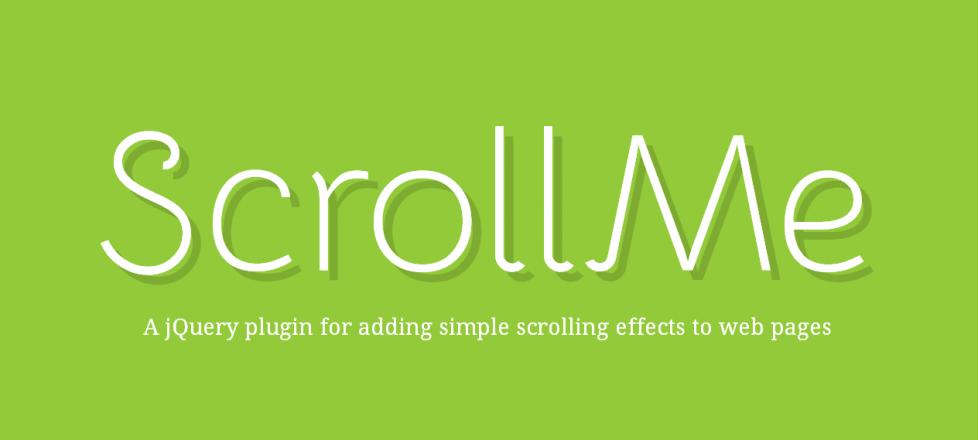 HTML要素にスクロールエフェクトを追加できるjQueryプラグイン「ScrollMe」