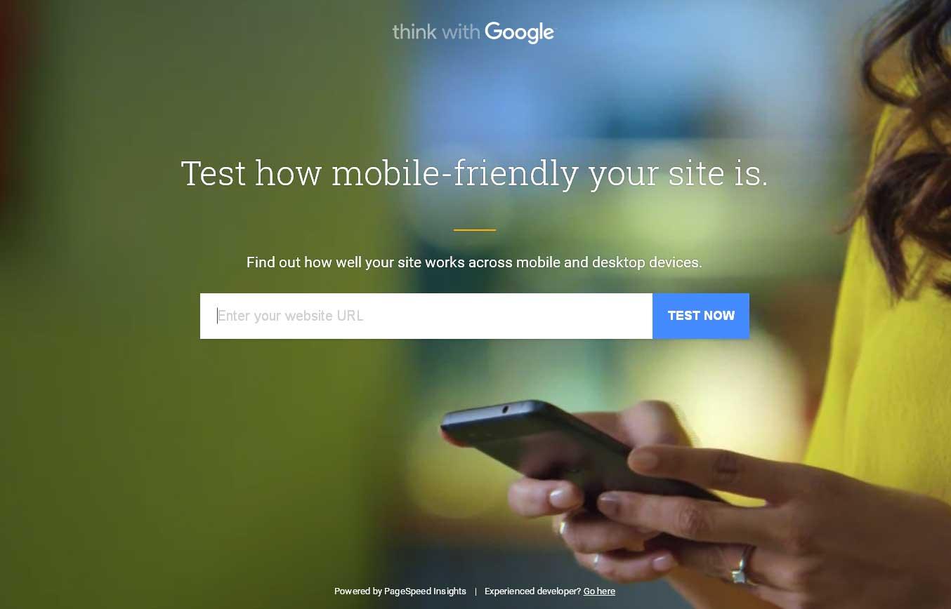 モバイルフレンドリーとPC・スマホの表示速度を一気にチェックすることができる「Mobile Website Speed Testing Tool」
