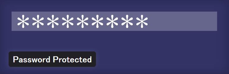 サイト全体にパスワード認証によるロックをかけてくれるWordPressプラグイン「Password Protected」