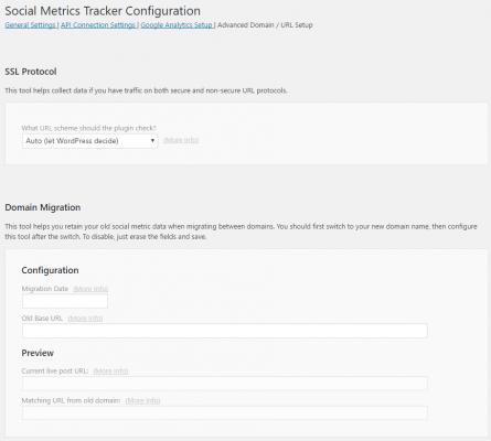 Advanced Domain / URL Setup