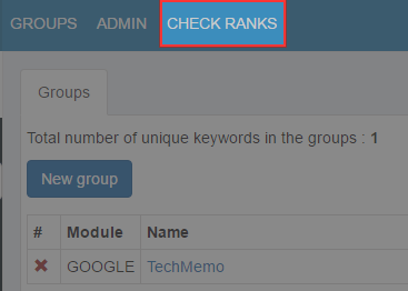 CHECK RANKS
