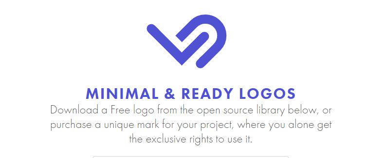 商用利用可!提案してボツになったロゴをオープンソースとして無料配布している「MINIMAL & READY LOGOS」