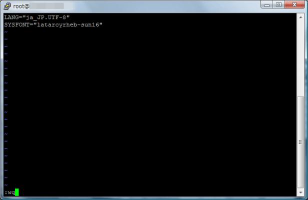 vim /etc/sysconfig/i18n