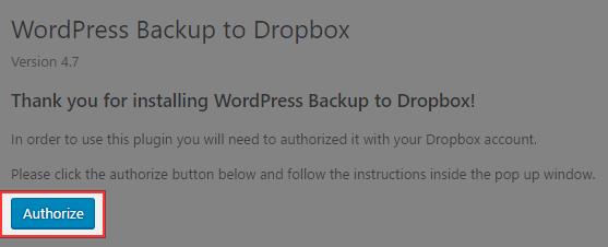 Dropboxとの連携を行います