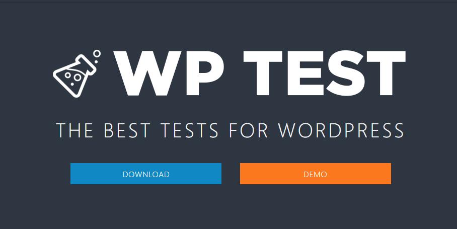 作成したWordPressテーマのスタイルをチェックするためのテストデータ「WP Test」