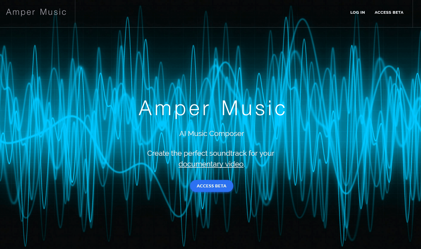 オリジナルの曲を人工知能が作曲してくれるWEBサービス「Amper Music」