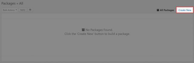 パッケージの新規作成