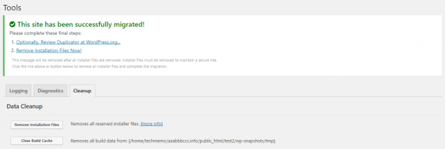 This site has been successfully migrated!