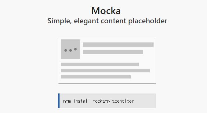 Facebookも実装しているインターフェイスプレビューが導入できるスタイルシート「mocka」