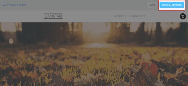 HTMLメールのダウンロード