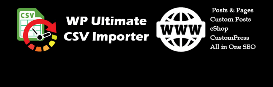 CSVから投稿を一括インポートできるWordPressプラグイン「CSV Import for WordPress(WP Ultimate CSV Importer)」