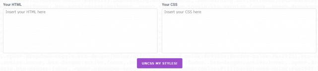 UnCSSの使い方